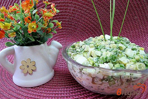 фото рецепта: Салат из черемши и яиц
