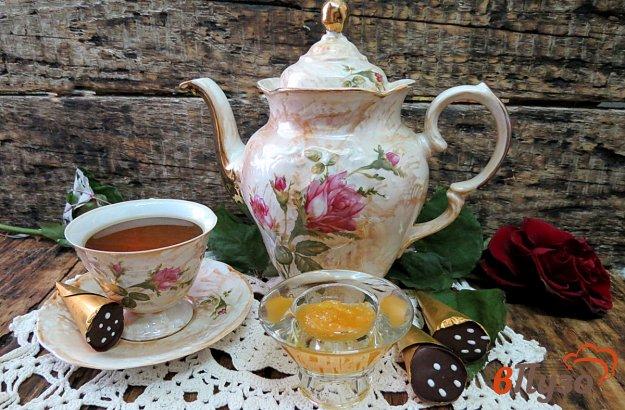 фото рецепта: Зелёный чай с корицей и имбирём