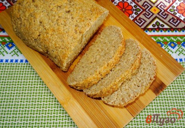 фото рецепта: Хлеб из овсяных отрубей
