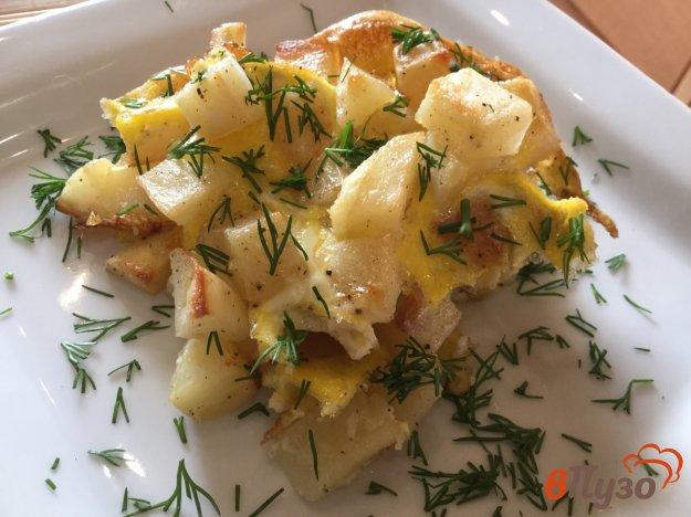 фото рецепта: Картофель, запеченный с чесноком и майонезом
