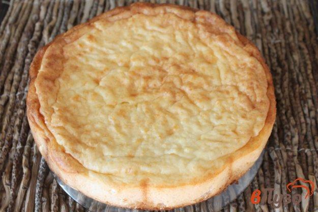 фото рецепта: Пирог крошка с творожным суфле