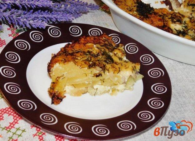 фото рецепта: Картофель запеченный под сыром