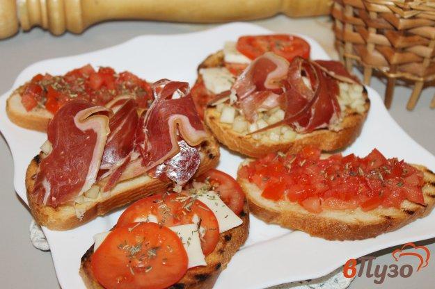 фото рецепта: Трио бутербродов для вина
