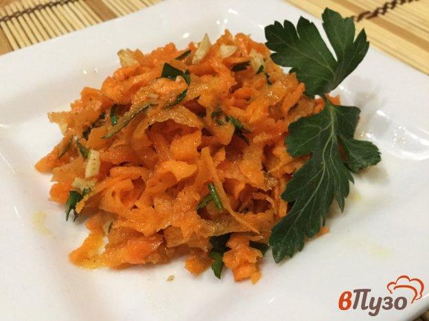 фото рецепта: Морковный салат с чесноком