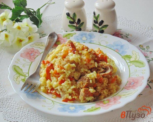 фото рецепта: Рис со свининой и тыквой