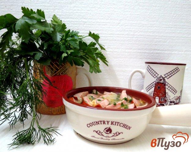 фото рецепта: Суп по-деревенски с колбасками