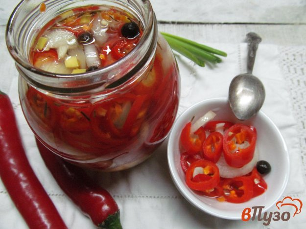 рецепт маринованного перца сациви