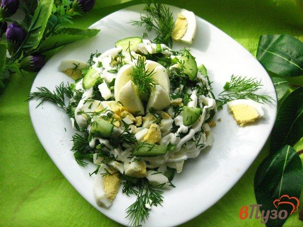 фото рецепта: Салат весенний с огурцами