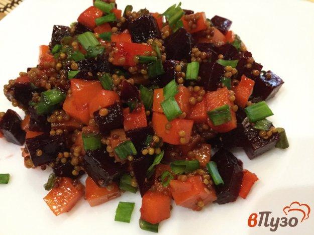фото рецепта: Свекольно - морковный салат