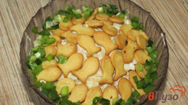 фото рецепта: Салат с крекерами