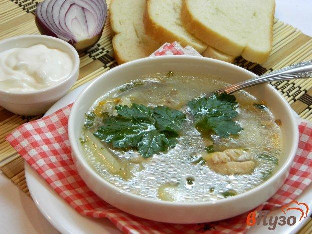 фото рецепта: Легкий гречневый суп