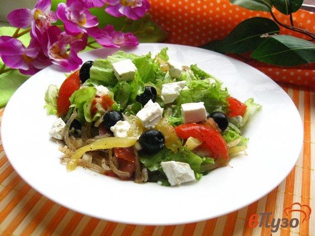 фото рецепта: Салат с маслинами