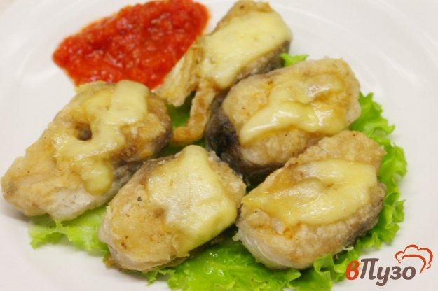 фото рецепта: Хек с сыром в панировке
