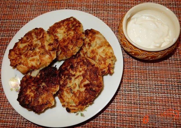 фото рецепта: Капустные котлеты с сыром