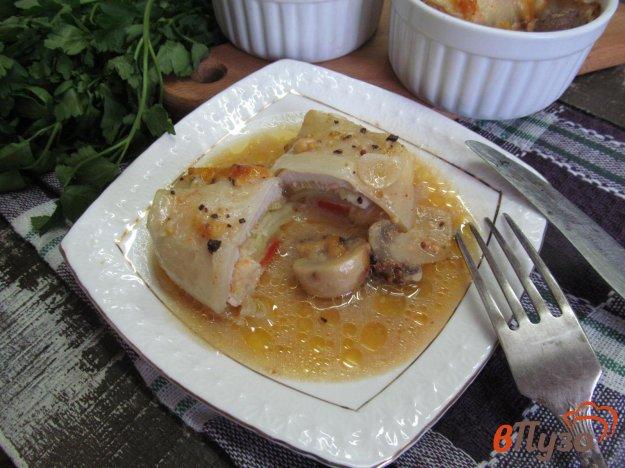фото рецепта: Голубцы с куриной грудкой
