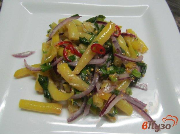 фото рецепта: Салат из стручковой фасоли