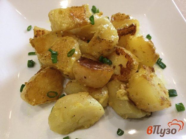 фото рецепта: Картофель, тушеный со сметаной и майонезом в мультиварке