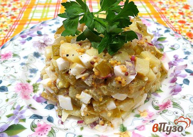 фото рецепта: Картофельный салат с дижонской горчицей