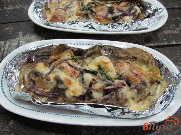 фото рецепта: Запеченной мясо свинины под шубой