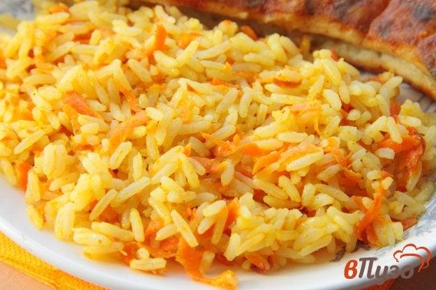 фото рецепта: Рис с карри и морковью