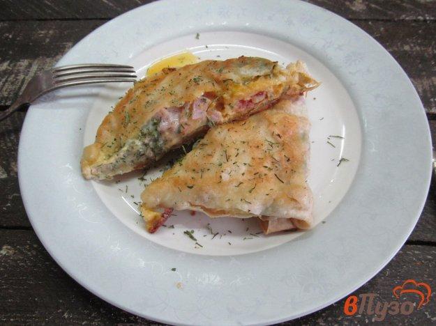 фото рецепта: Быстрый завтрак из лаваша