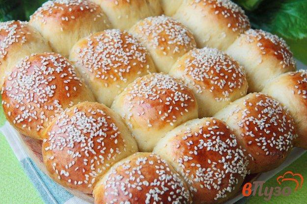 фото рецепта: Сдобный хлеб с кунжутом