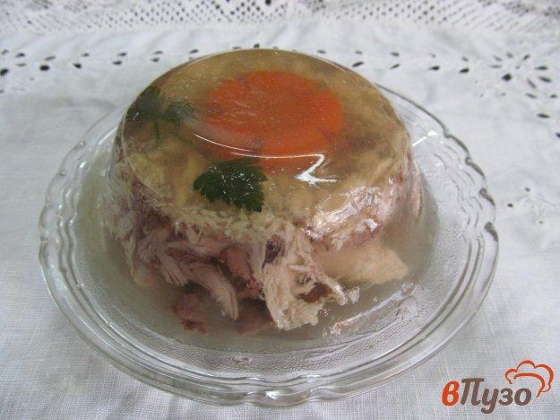 фото рецепта: Заливное из курицы с печенью