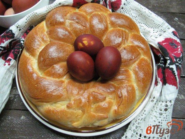 фото рецепта: Пасхальный хлеб