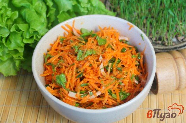 фото рецепта: Морковный салат с ветчиной