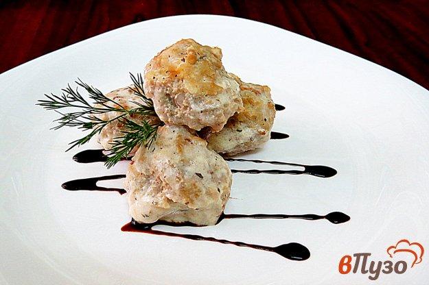 фото рецепта: Тефтели в сметанном соусе