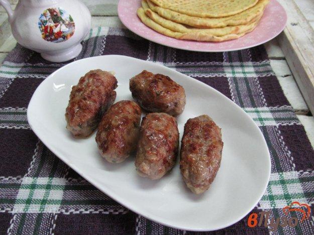 фото рецепта: Котлеты в стиле люля - кебаб