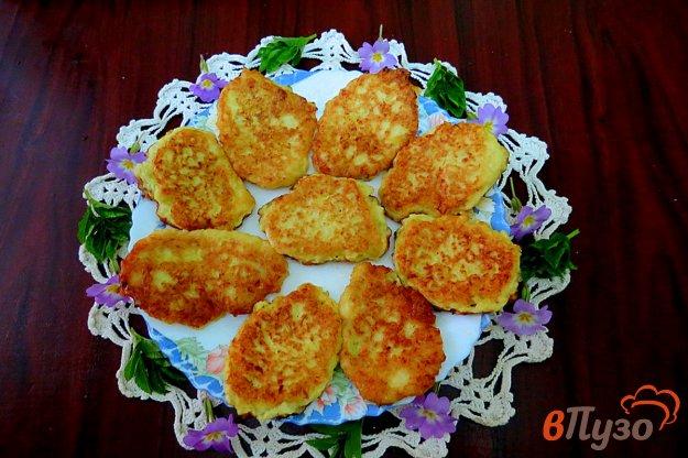 фото рецепта: Капустные оладьи на кефире