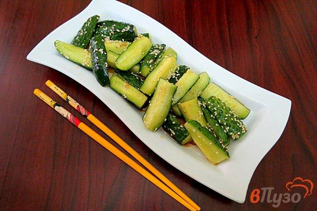 фото рецепта: Огурцы по-корейски