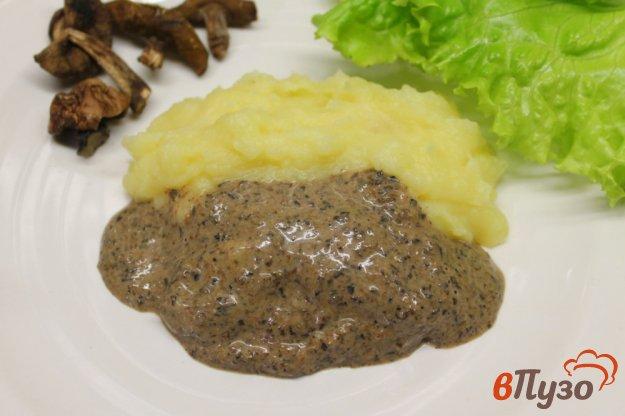 фото рецепта: Соус из лесных грибов