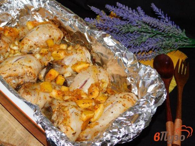 фото рецепта: Курочка в лимонно-чесночном маринаде
