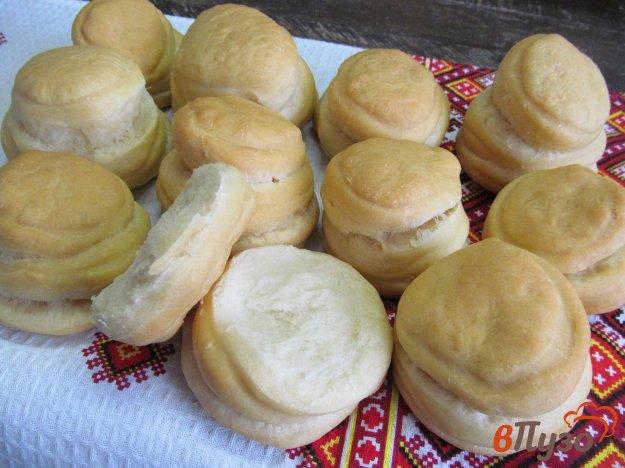 фото рецепта: Слоеные булочки из дрожжевого теста