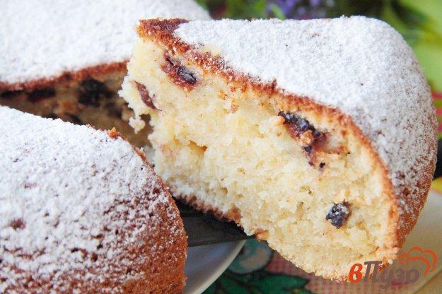 фото рецепта: Кекс на ряженке с черносливом