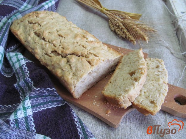 фото рецепта: Быстрый хлеб на пиве