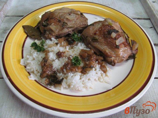 фото рецепта: Куриные бедра в пивном маринаде