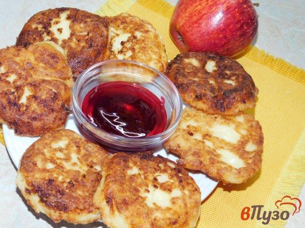фото рецепта: Сырники творожные с яблоками