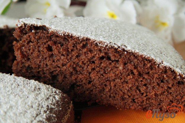 фото рецепта: Шоколадный манник на ряженке