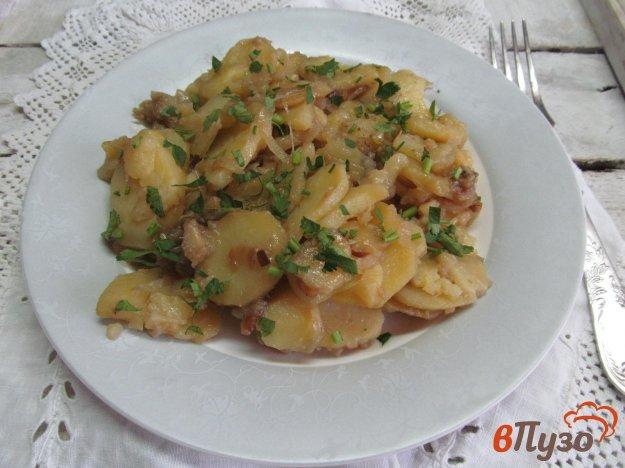 фото рецепта: Тушеная картошка с луком по-узбекски