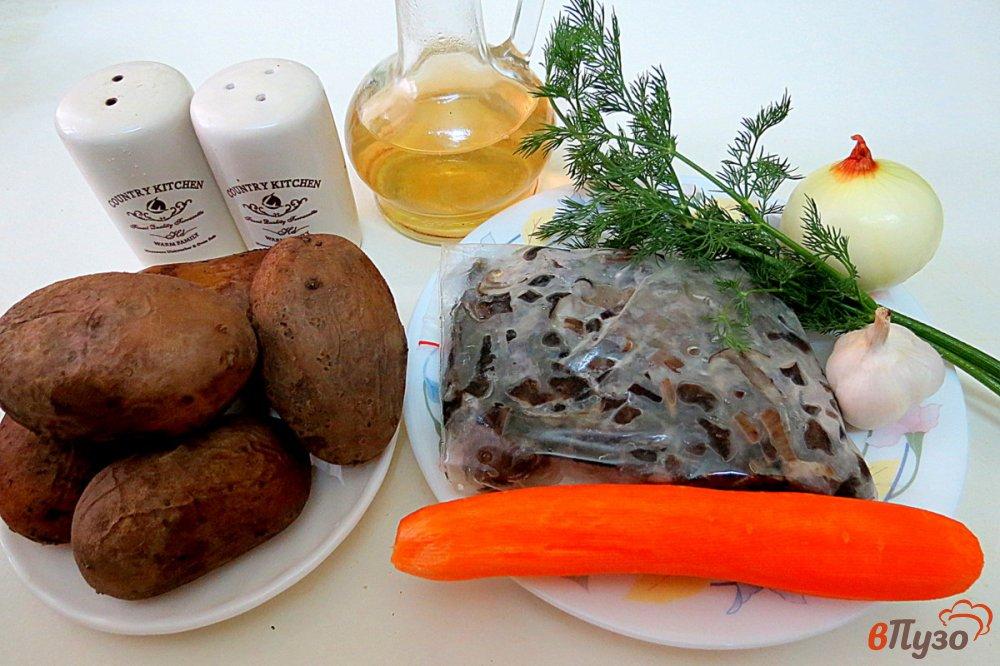 Фото приготовление рецепта: Картофельные зразы в духовке шаг №1
