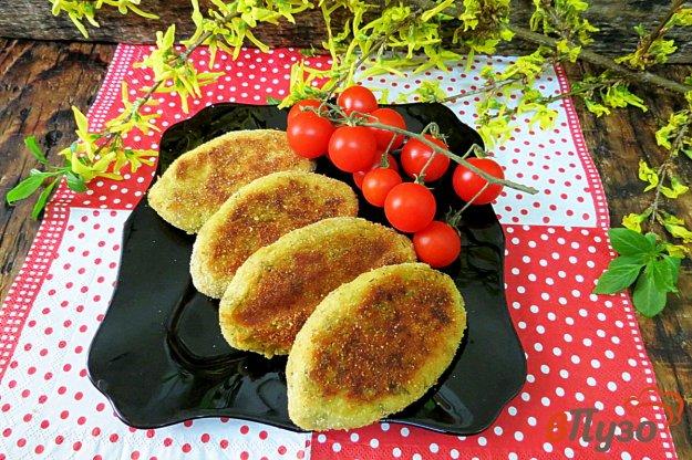 фото рецепта: Картофельные зразы в духовке