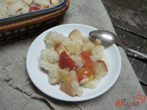 фото рецепта: Запеченные яблоки с рисом