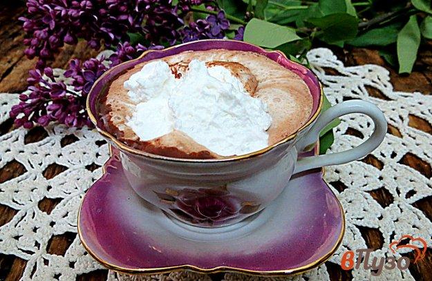 фото рецепта: Горячий шоколад со сливками