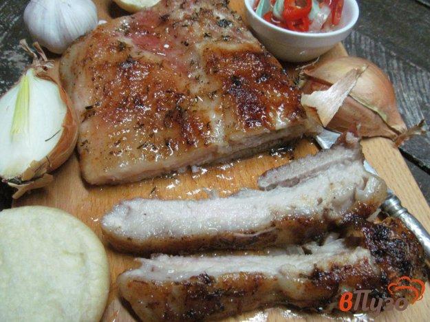 фото рецепта: Запеченная свинина в специях с медовой корочкой