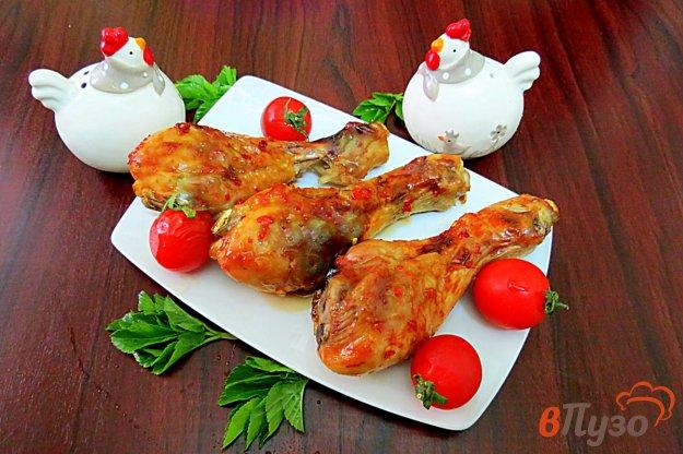 фото рецепта: Куриные голени запеченные в духовке