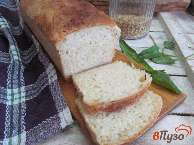 фото рецепта: Хлеб с цветной капустой и чесночными стрелками