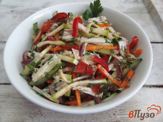 фото рецепта: Салат из свежих овощей